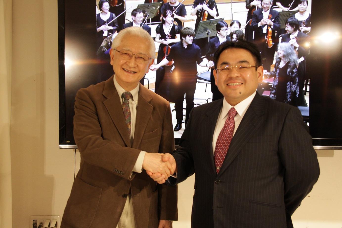 広島交響楽団による記者会見が行われました