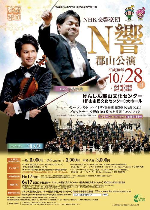 This week's concert (22 October – 28 October, 2018)