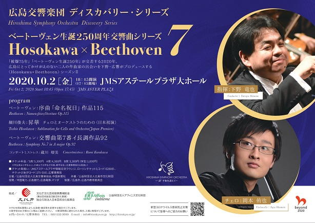 This week's concert (28 September– 4 October 2020)